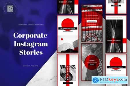 Corporate Instagram Banners Stories