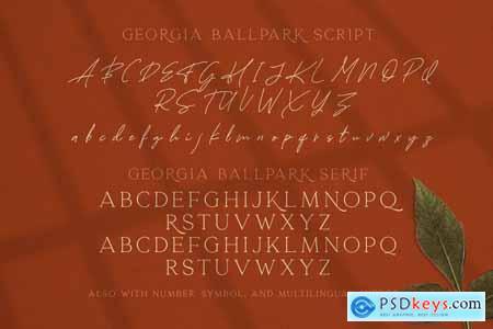 Georgia Ballpark - FONT DUO 4150511