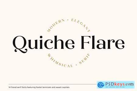Quiche Flare Font Family 4215403