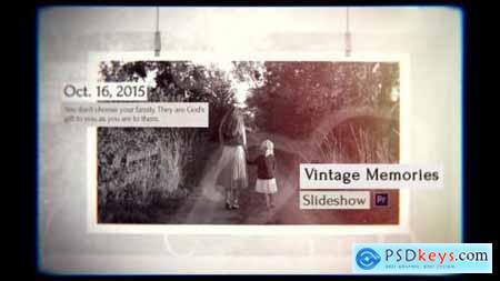 Videohive Vintage Slideshow 23908721
