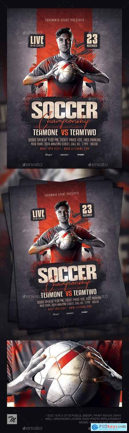 Soccer Championship Flyer 24867191
