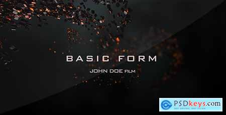 VideoHive Basic Form Movie Titles 6516122