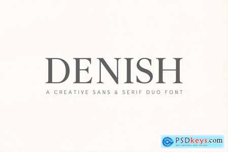 Denish Sans & Serif Duo Font Family 4239175