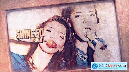 Videohive Vintage Grunge Slideshow 8060436
