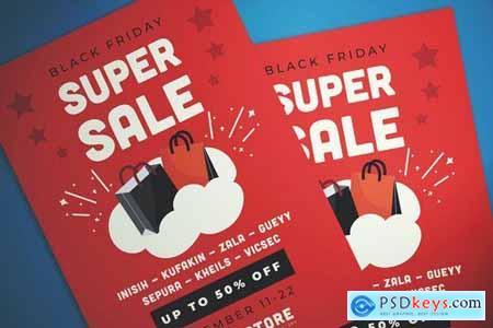 Black Friday Super Sale Flyer