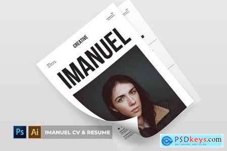 Imanuel CV & Resume