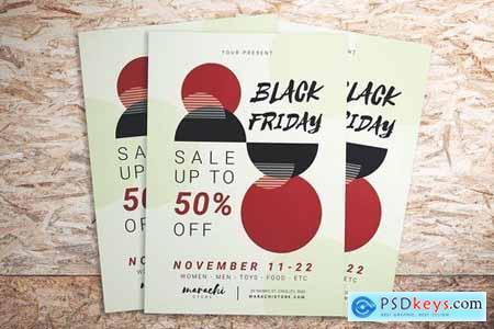 Black Friday Minimalist Flyer