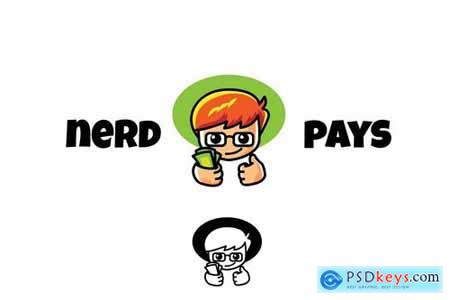 Nerd Pays - Mascot & Esport Logo