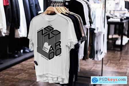 T-Shirt Shopping Mock-Up Vol.2