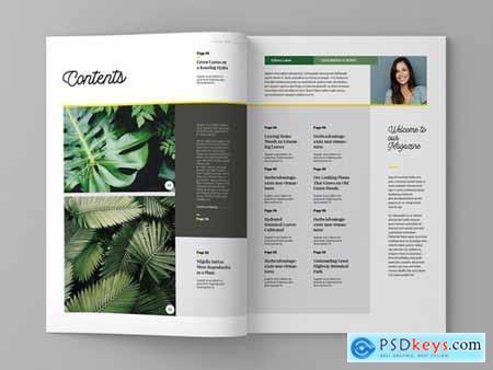 Super Plantae - Magazine Template