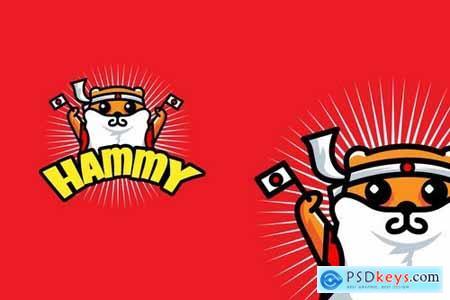 Hammy Nippon - Mascot & Esport Logo