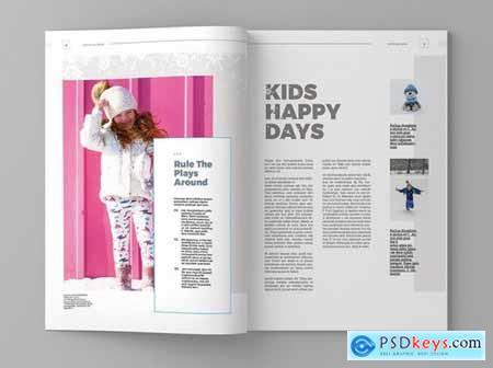 Wintro - Magazine Template
