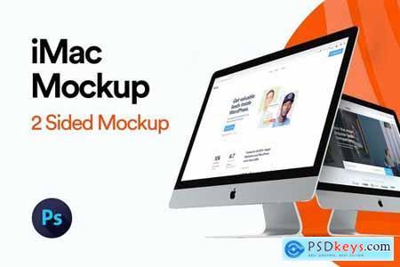 iMac 2019 Angle Mockup
