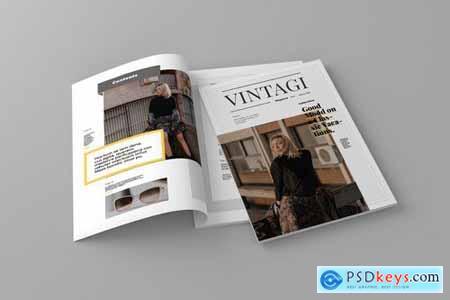Vintagi - Magazine Template