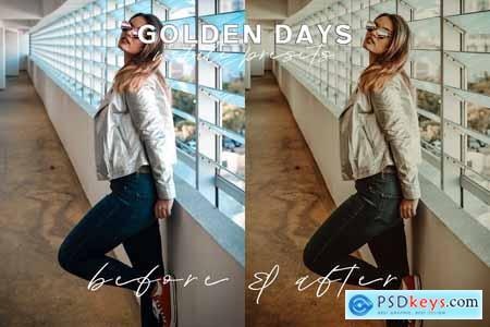 Golden Days Mobile Presets 4079732