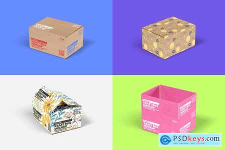 Kraft Box Mockup - Packaging Vol 1 4155859