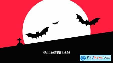 VideoHive Flat Halloween Logo 24900618