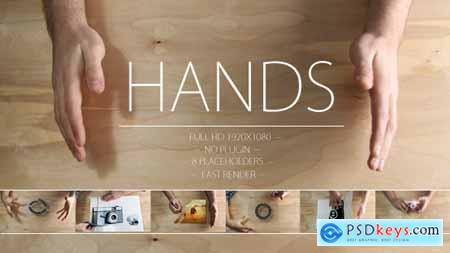 Videohive Made by Hands 4456651