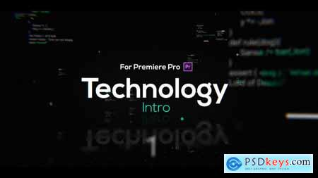 Videohive Technology Intro for Premiere Pro 23506456