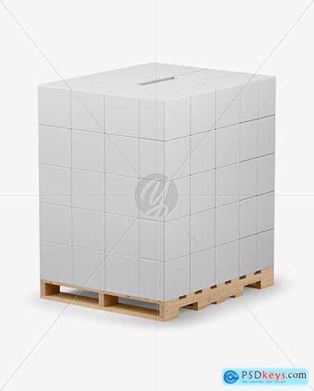 Pallet Mockup 50562