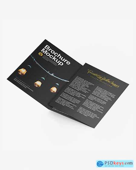 Textured Brochure Mockup 50506