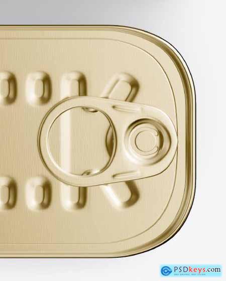 Box with Tin Can Mockup 50503