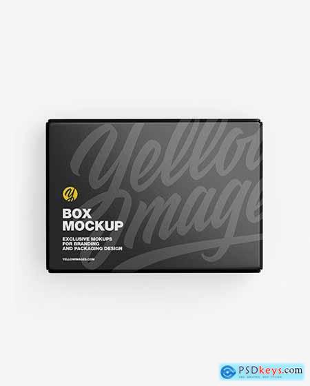 Glossy Paper Box Mockup 50359