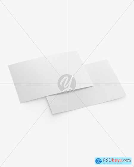 Matte A5 Postcard Mockup 50586