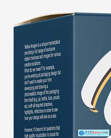 Paper Box Mockup 50492