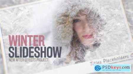 Videohive Winter Slideshow 13336191