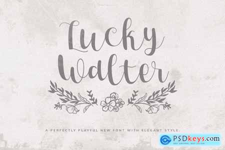 Lucky Walter - Elegant Style Font 4242256