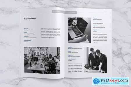 HEXA Professional Company Profile Brochures