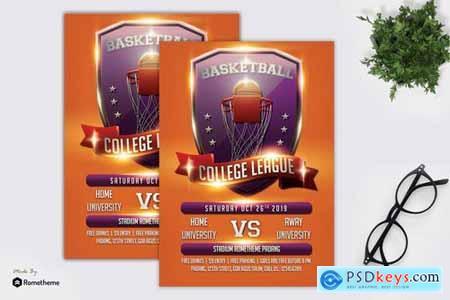 Basketball Flyer Template vol.03