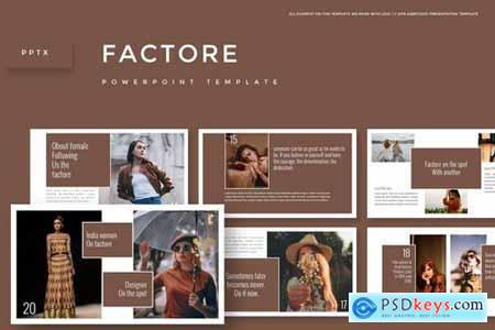 Factore - Powerpoint Google Slides and Keynote Templates