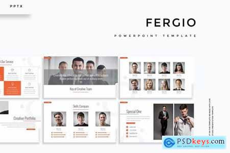 Fergio - Powerpoint Google Slides and Keynote Templates
