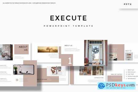 Execute - Powerpoint Google Slides and Keynote Templates