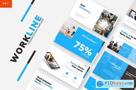 Workline - Company Powerpoint Google Slides and Keynote Templates