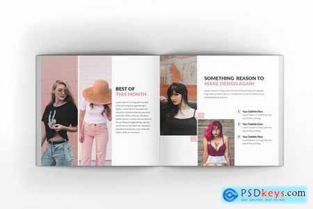 Tullsta Lookbook Square Brochure