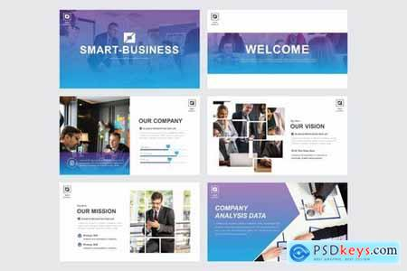 SMART BUSINESS - Powerpoint Google Slides and Keynote Templates
