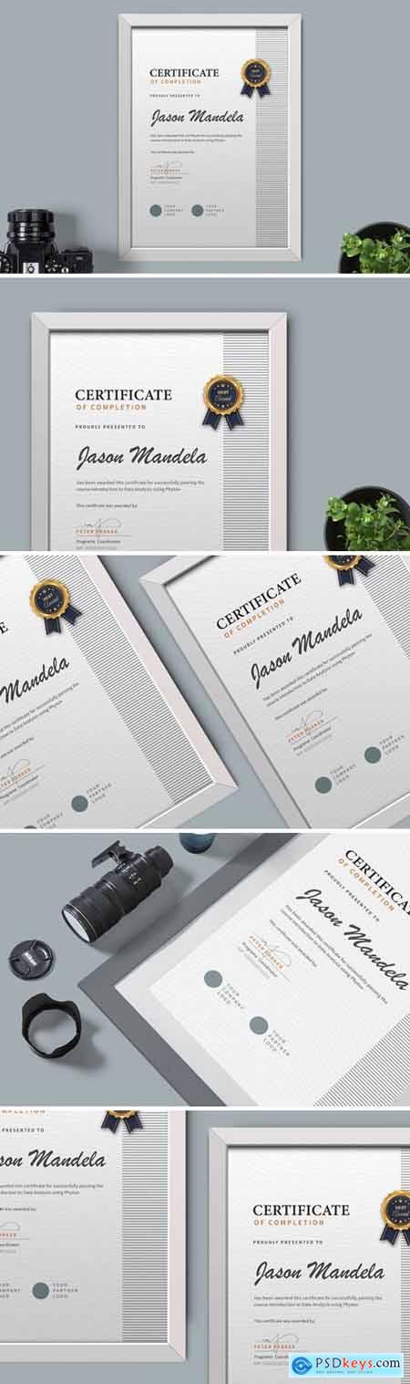 Certificate Diploma Template Pro v7