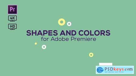 Videohive Shapes and Colors Broadcast Package Essential Graphics Mogrt 22642276