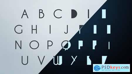 VideoHive Clean Corporate Animated Typeface 8676175