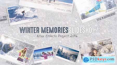 VideoHive Winter Memories 14421393