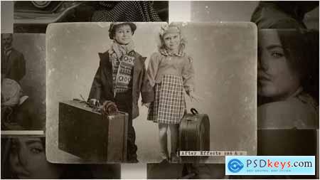 Videohive Vintage Photo Slideshow 23438454
