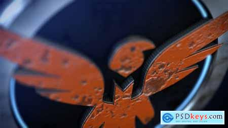 Videohive 3D Paint Logo Reveal 23527378