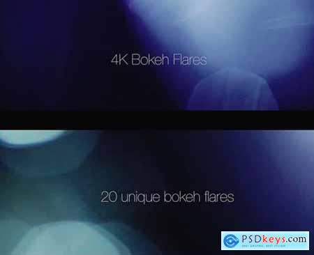 4K Bokeh Flares 20 Pack
