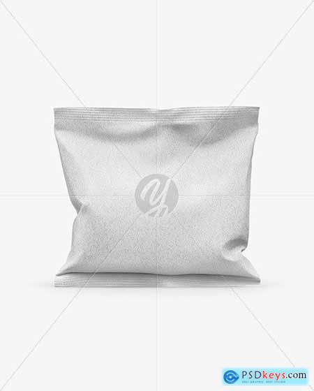 Kraft Snack Bag Mockup 50612
