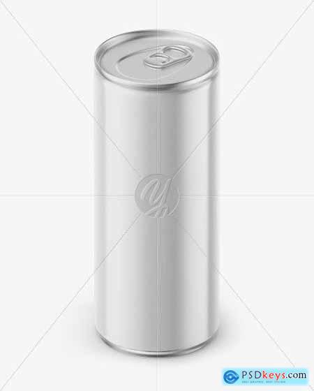 Metallic Can w Glossy Finish Mockup 50543