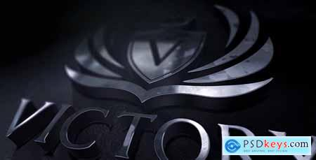 VideoHive 3d Chrome Logo Reveal 21310833