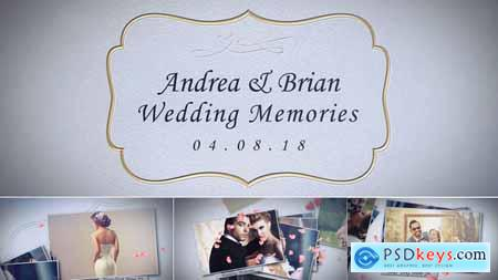 VideoHive Wedding Memories 22407082